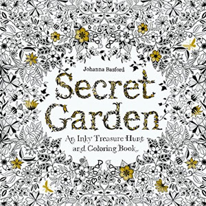 Johanna Basford Coloring Book Secret Garden