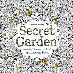 Johanna Basford Coloring Book Secret Garden