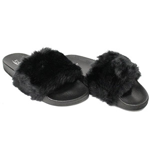 Kali Faux Fur Soft Slide