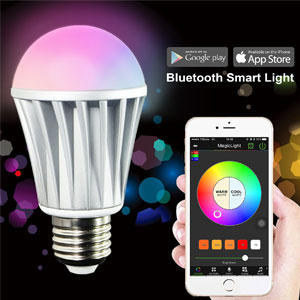 MagicLight Bluetooth Smart LED Light Bulb