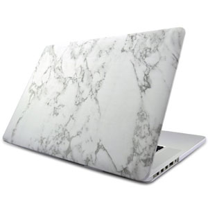 Marble Hardshell MacBook Case
