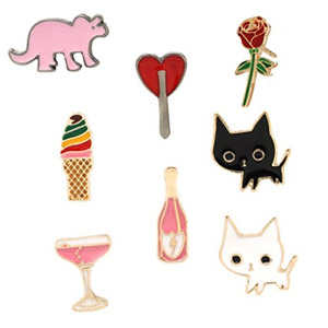 MeliMe Cute Enamel Brooches