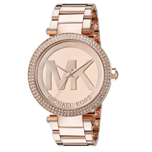 Michael Kors Runway Rose Gold-Tone Watch