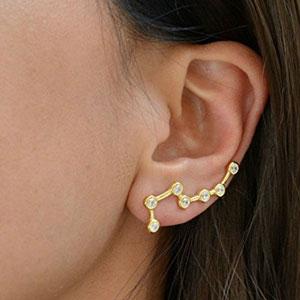 Miss Chopin Constellation Earrings