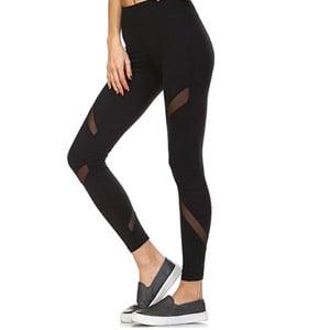 Mono B Womens Athletic Full Leggings