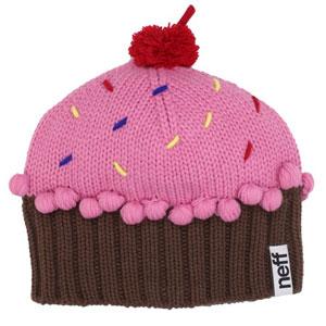 Neff Womens Cupcake Beanie Hat