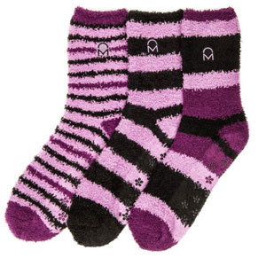 Noble Mount Fuzzy Winter Crew Socks