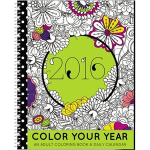 SDI 2016 Coloring Year Planner
