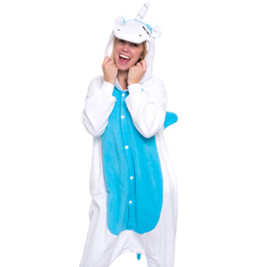 Silver Lilly Unicorn Onesie