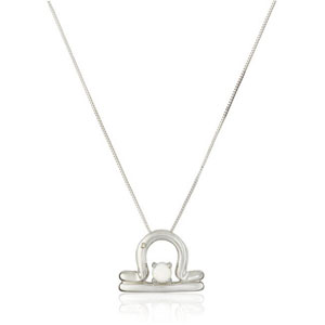 Sterling Silver Birthstone Pendant Necklace