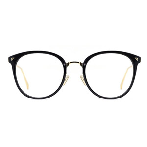 TIJN Eyeglasses Frame with Clear Lenses