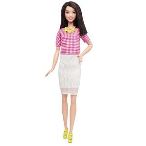 Tall Barbie Fashionistas Doll 30 White & Pink Pizzazz