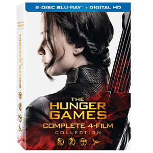 The Hunger Games: Complete 4 Film Set