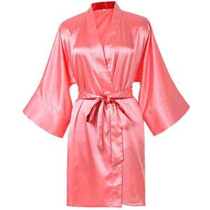Tideclothes Kimono Satin Robe