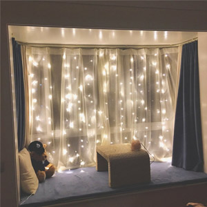 Twinkle Star Curtain Fairy Lights