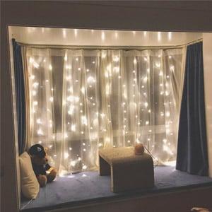 Twinkle Star Curtain Fairy Lights
