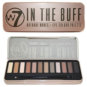 W7 In The Buff Nudes Palette
