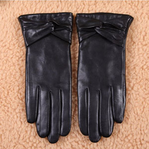 Warmen Texting Leather Gloves