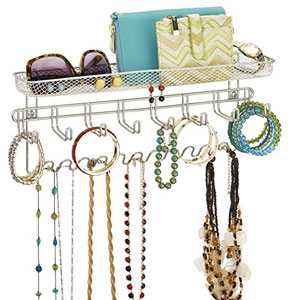mDesign Fashion Jewelry Organizer