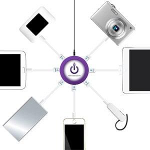 ChargeHub 7 Port USB Charging Station