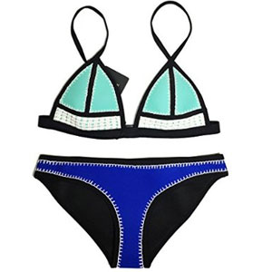 Floravogue Neoprene Bikini Set