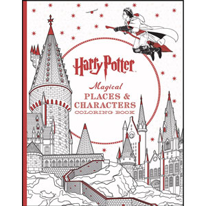 Harry Potter Characters Coloring Book