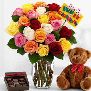 ProFlowers - Deluxe Ultimate Birthday Bouquet