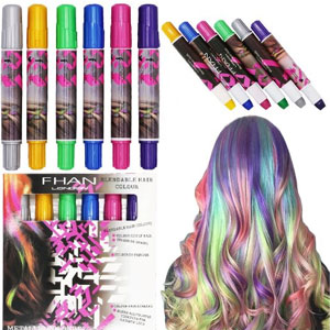 SOOKOO 6 Color Hair Chalk Set