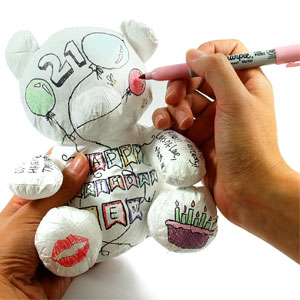SUCK UK Paper Teddy