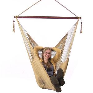 Sunnydaze Hanging Hammock Chair