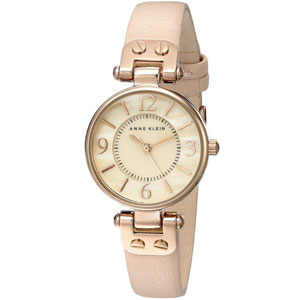 Anne Klein Goldtone Diamond Dial Watch