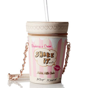 Betsey Johnson Milk Shake Cross Body Bag