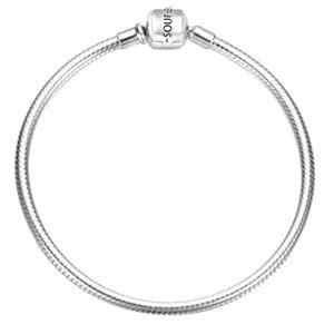 Soufeel 925 Sterling Silver Basic Charm Bracelet