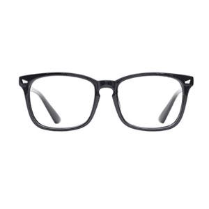 TIJN Eyeglasses Frame with Clear Lenses