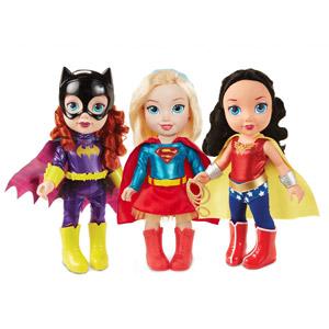 18-inch Toddler DC Super Hero Girl Dolls