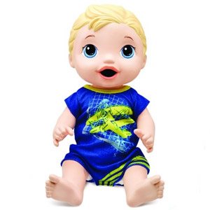 Baby Alive Snackin Luke Baby
