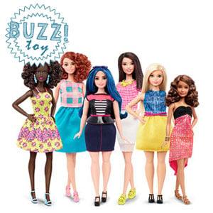 Barbie Fashionistas Original, Petite, Tall, Curvy
