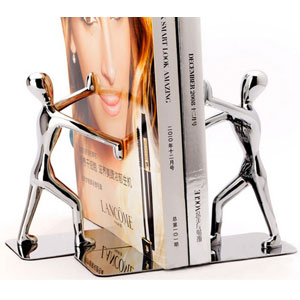 Fasmov Steel Man Bookends