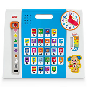 Fisher-Price Laugh & Learn Puppys A to Z Smart Pad