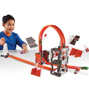Hot Wheels Track Builder System Construction Crash Kit
