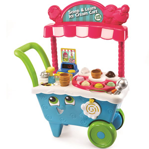 2 5 LeapFrog Scoop Learn Ice Cream Cart