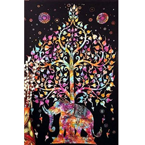 Marubhumi Tree of Life Tapestry