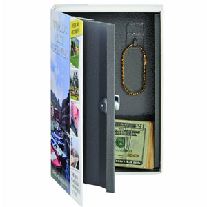 STEELMASTER Travel Book Safe