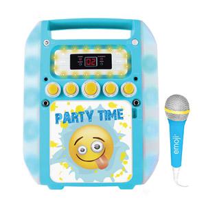 Sakar Emoji Flashing Karaoke Machine