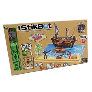 StikBot Stop Pirate Movie Set