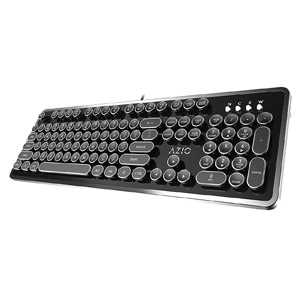 Azio Mk Retro USB Typewriter Keyboard