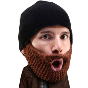 Beard Head Stubble Knit Beard Beanie