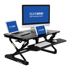 FlexiSpot Adjustable Standing Desk Riser