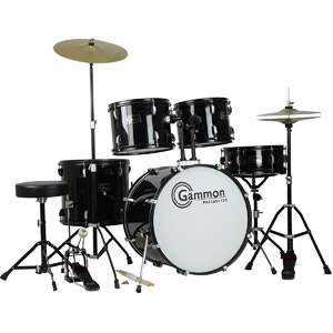 Gammon Percussion Full Size Drum Set