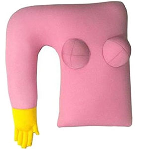 Girlfriend Pillow with Arm